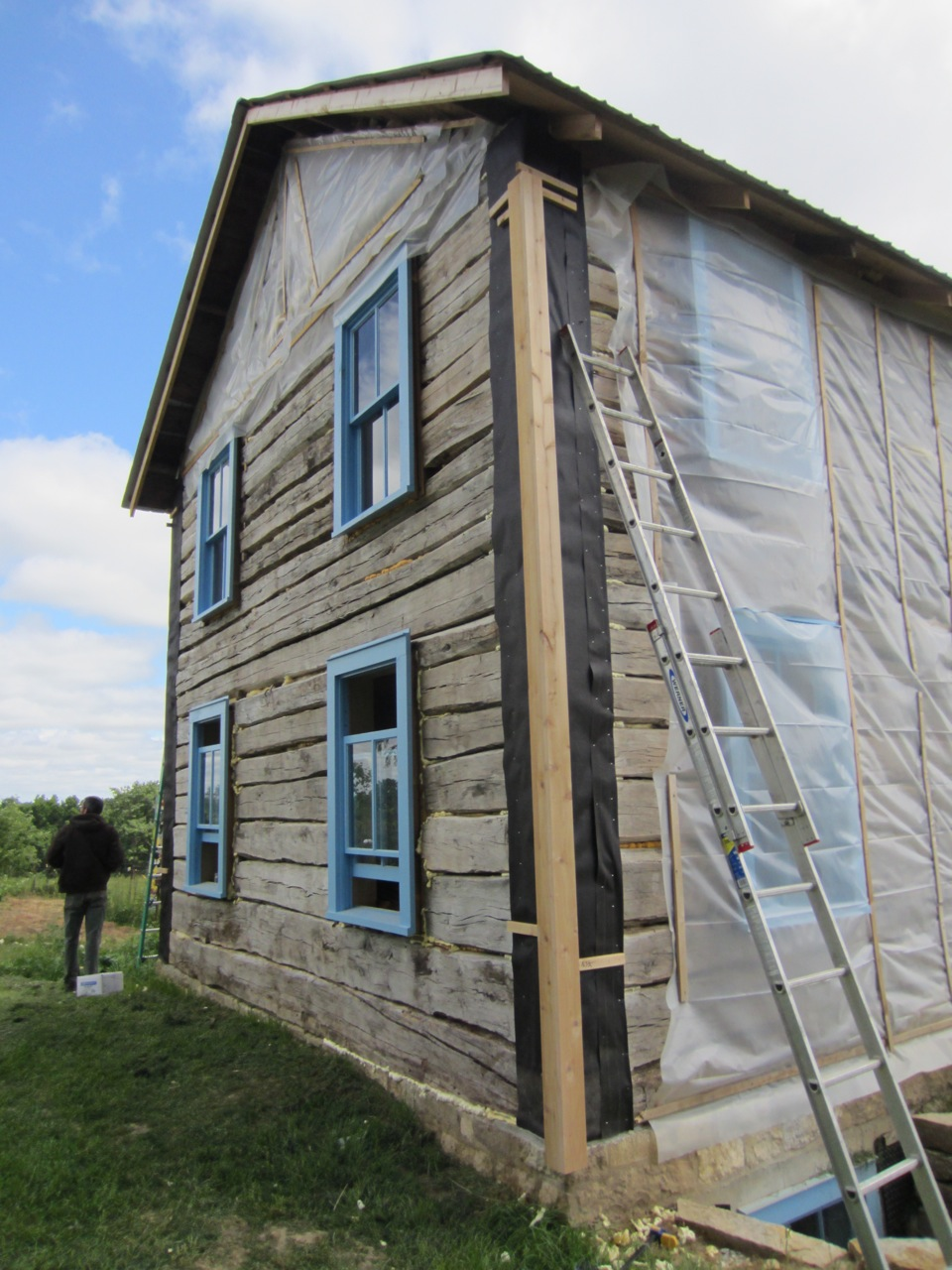 Tongue And Groove Siding Nailer Beadboard Ceiling Install