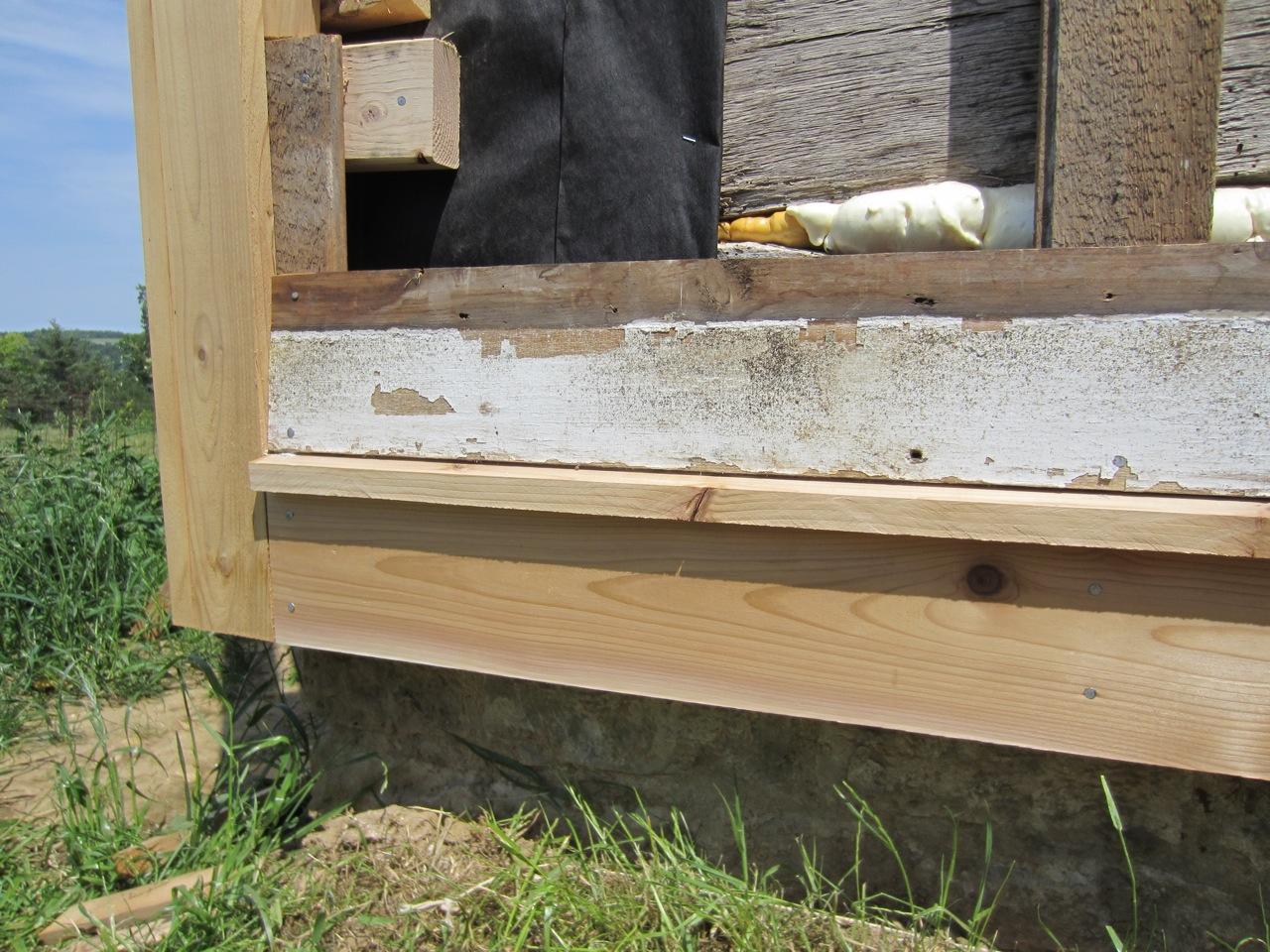 Siding A Log House Trout River Log House