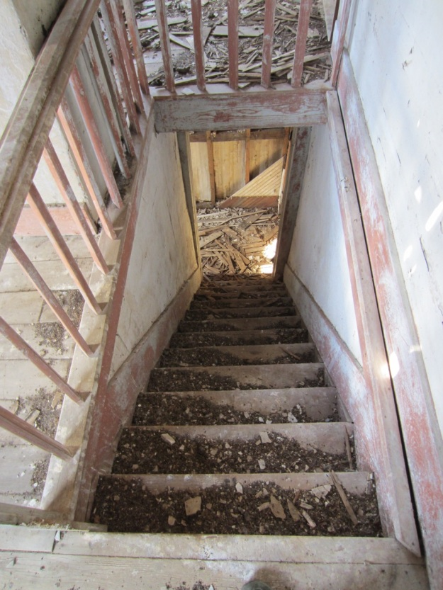 Staircase, inside addition