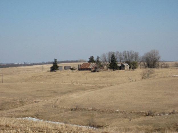 The farmstead sits in stunning French Creek Township in Allamakee County, Iowa