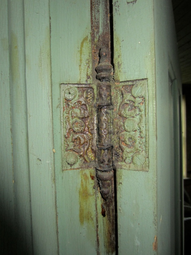 Eastlake-era hinge, approx 1880