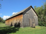 Tobacco barn.  Believe it or not, southwest Wisconsin was once a primary producer of the stuff.